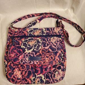 Vera Bradley Double Zip Mailbag Katalina Pink
